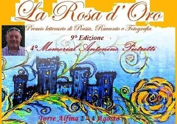 """Nona edizione a Torre Alfina per il concorso """"La Rosa d'Oro"""""""