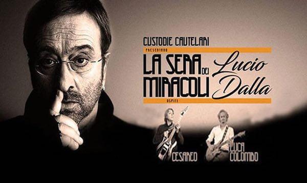 """A """"In...Canto d'Estate"""", è """"La Sera dei Miracoli"""" dedicata a Lucio Dalla"""
