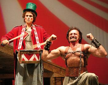 """""""La Strada"""" al Teatro Mancinelli. Omaggio a Fellini con lo spettacolo vincitore di 3 Premi Olimpici 2009"""