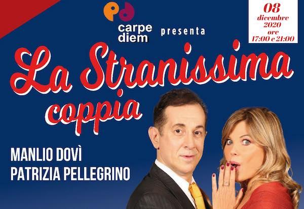 """Con """"La stranissima coppia"""" il Teatro Don Paolo Stefani va in streaming"""