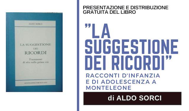 """Aldo Sorci presenta il libro """"La suggestione dei ricordi"""""""