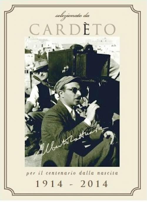 Da Cardèto un'etichetta speciale per omaggiare il grande maestro del cinema