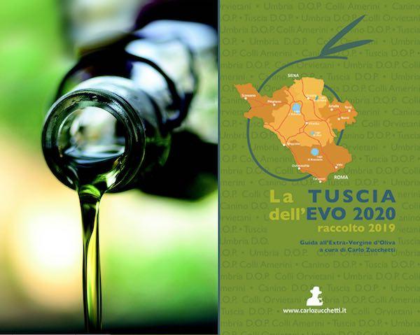 """Guida a """"La Tuscia dell'EVO 2020"""". Tutti i premiati del raccolto 2019"""