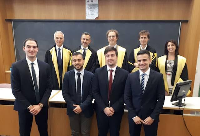 Università della Tuscia, ecco i primi laureati in Ingegneria Meccanica