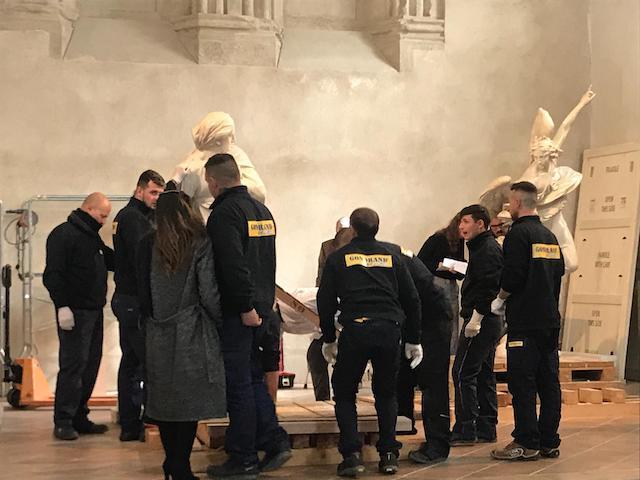 Rientro delle statue in Duomo, omaggio alla bellezza