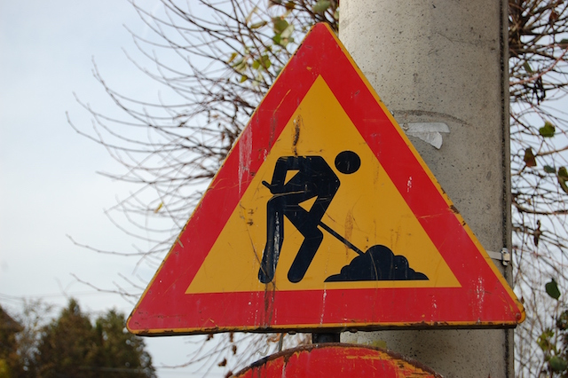 Lavori all'intersezione tra Corso Cavour e Via Montemarte, modifiche alla circolazione