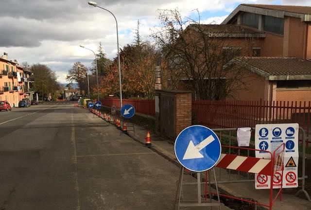 Cominciati i lavori per la fibra ottica nel centro urbano
