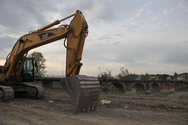 In corso i lavori sulla statale 71 nei pressi della nuova rotatoria della Complanare