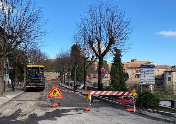 Lavori pubblici, in corso la messa in sicurezza di Via del Passeggio