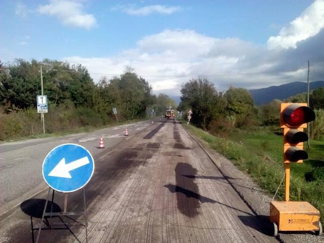 Via ai lavori sulla strada regionale 205 Amerina. Interventi per quasi 70.000 euro