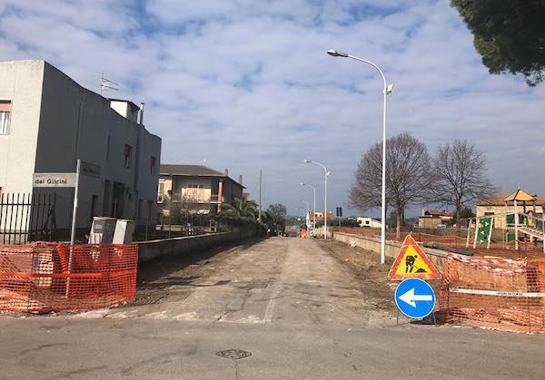 Iniziati i lavori di sistemazione di Via delle Magnolie e Strada Magazzini