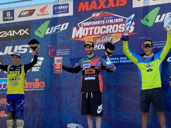 Motocross, il 19enne Leonardo Angeli punta alla vittoria a Gioiella