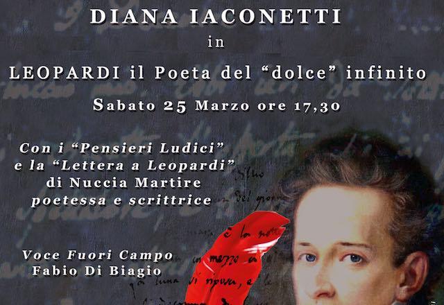 A Palazzo Simoncelli, l'omaggio a Leopardi di Diana Iaconetti e Nuccia Martire