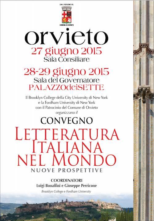 """Studiosi a confronto su """"Letteratura italiana nel mondo. Nuove prospettive"""""""