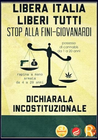 A proposito della legge 49/2006 Fini-Giovanardi. Intervento dei Giovani Democratici di Orvieto