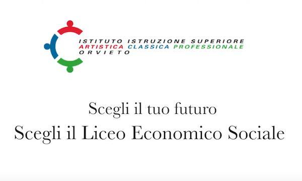 Liceo delle Scienze Umane, da settembre parte l'opzione Economico-Sociale