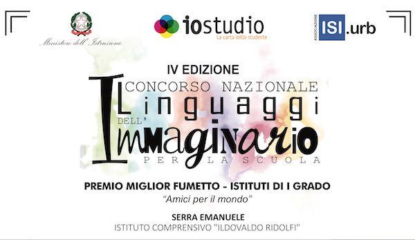 """L'Istituto Comprensivo """"Ridolfi"""" vince il primo premio del Romics"""