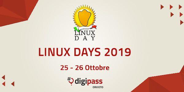 Linux Day, l'edizione 2019 raddoppia. L'intelligenza artificiale al servizio del cittadino