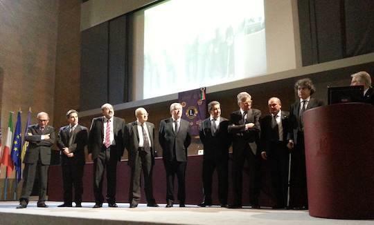 L'intervento del Presidente del Comitato Lions per il Giubileo Vincenzo Capretto