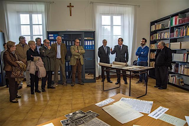 """Il Lions Club di Orvieto commemora i defunti e presenta il progetto """"Biblioteca C.A. Calistri"""""""