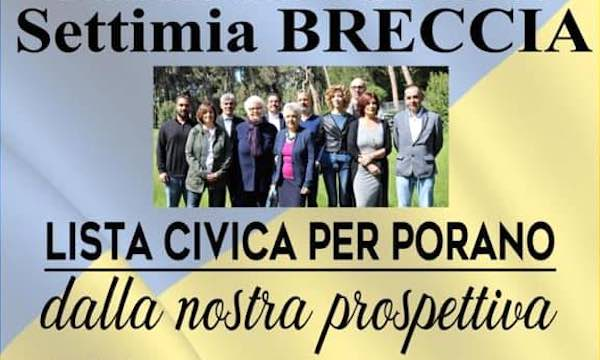 """""""Lista Civica per Porano. Dalla Nostra Prospettiva"""" incontra le categorie produttive locali"""