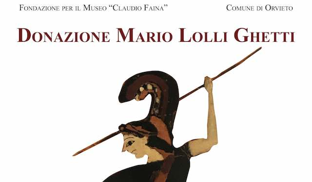 """Al Museo Faina si inaugurano le sale dedicate alla """"Donazione Mario Lolli Ghetti"""""""