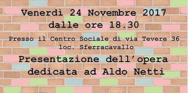 """Orvieto StreetArt"" presenta l'opera dedicata ad Aldo Netti"