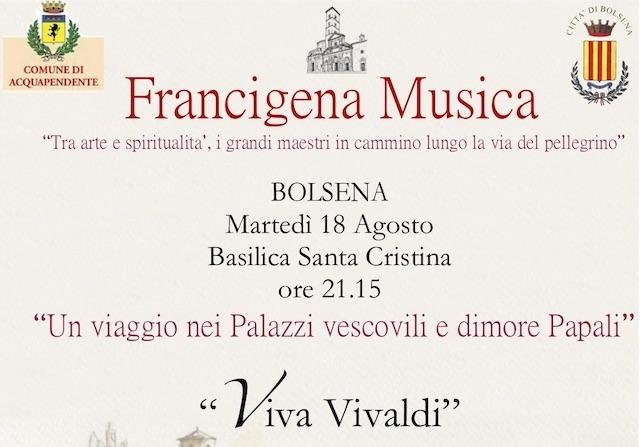 Vivaldi in scena alla Basilica di Santa Cristina