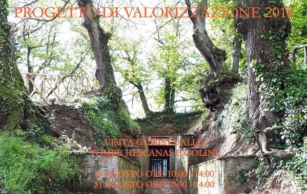 "Visite guidate alla Tomba Etrusca ""Hescanas"""