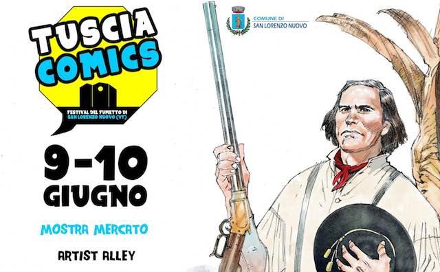 """""""Tuscia Comics"""". La prima edizione del Festival del Fumetto omaggia Kit Carson"""