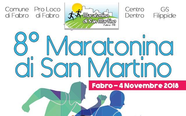 """Ottava edizione per la """"Maratonina di San Martino"""". Tutte le novità"""