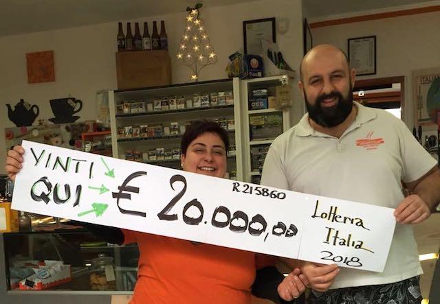 """Fermento a Civitella del Lago dopo la vincita da 20.000 euro alla """"Lotteria Italia"""""""