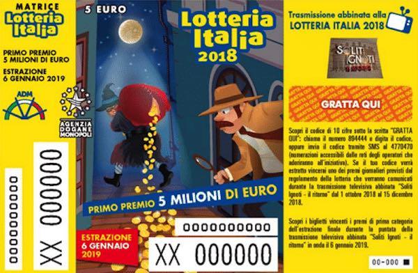 """""""Lotteria Italia"""". Venduto a Fabro il biglietto da 500.000 euro"""