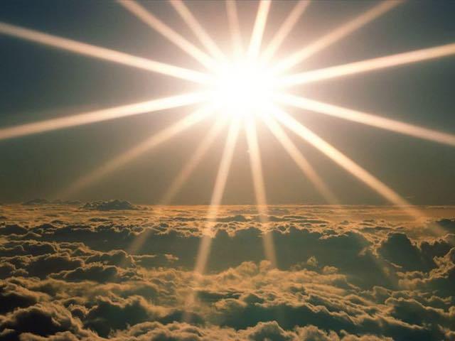 E mi chiedevo nella luce del sole