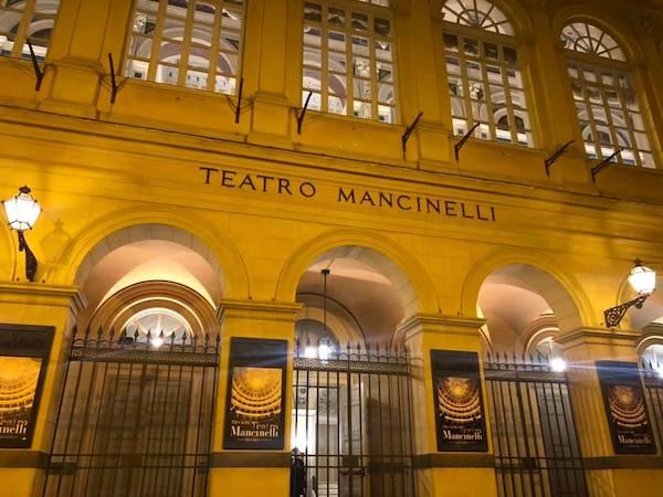 """""""Facciamo luce sul teatro"""", anche il Mancinelli di Orvieto aderisce all'iniziativa nazionale"""