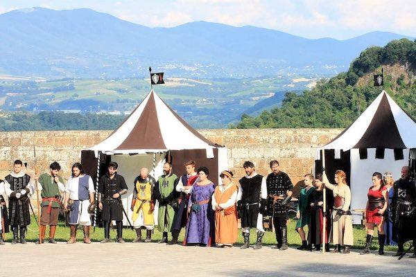 """""""Ludi alla Fortezza"""", la soddisfazione di Orvieto 1264 per l'edizione zero"""