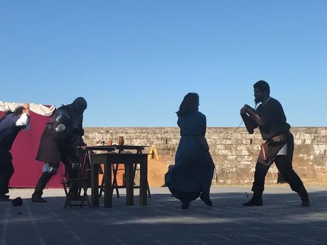 """""""Ludi alla Fortezza"""", Templari al Palazzo dei Sette"""