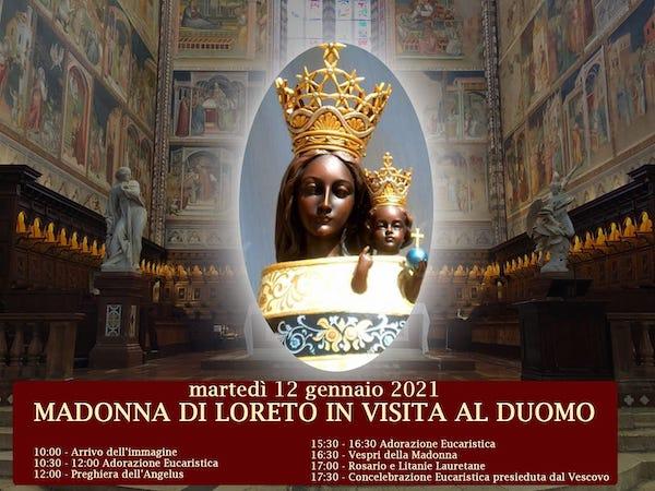 La Madonna di Loreto visita Orvieto. In Duomo la messa con il vescovo Sigismondi
