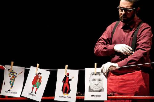 """I Porti della Teverina. Al Teatro dei Calanchi di Lubriano """"I nuovi lineamenti delle mafie"""""""