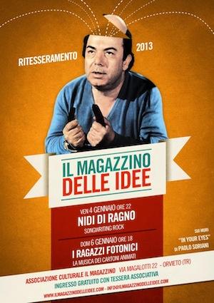 Il Magazzino delle Idee riparte con il tesseramento 2013 e nuovi concerti