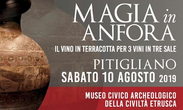 """""""Magia in anfora, il vino in terracotta"""", visite guidate e degustazioni al Museo"""
