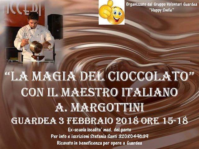 """L'impegno del Gruppo Volontari Guardea """"Happy Smile"""" prosegue con """"La Magia del Cioccolato"""""""