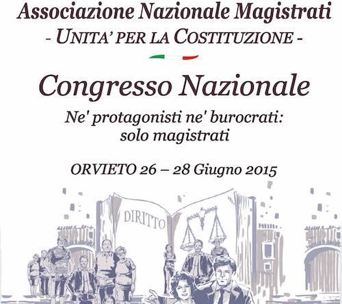 """I magistrati d'Italia a Orvieto per """"Né protagonisti né burocrati. Solo magistrati"""""""