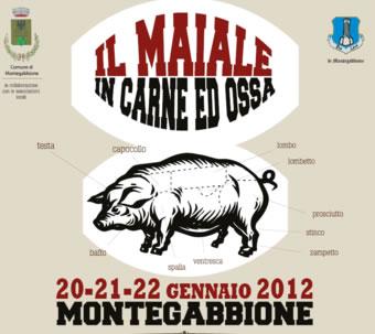 """Edizione in grande stile per il """"Il Maiale in carne ed Ossa"""" 2012 a Montegabbione"""