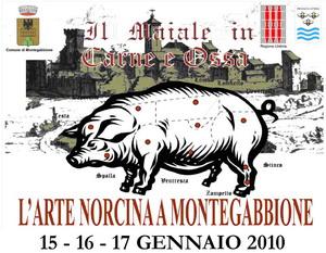 """Dal 15 al 17 gennaio a Montegabbione, """"Il maiale in carne ed ossa"""""""