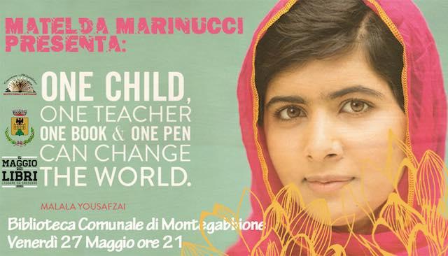 Alla biblioteca di Montegabbione, la storia di Malala e la sua battaglia per la libertà