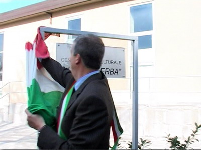 Inaugurato a Porano il nuovo centro Socio-Culturale dedicato allo scrittore Luigi Malerba