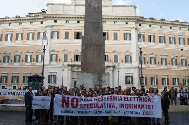 Geotermia, lettera aperta di Nogesi alla presidente Marini e all'assessore Cecchini
