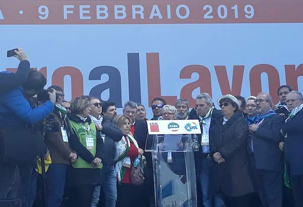 #FuturoalLavoro, la Cisl Umbria alla manifestazione nazionale [Video]