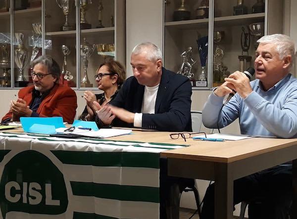 Riccardo Marcelli, nuovo coordinatore dell'area sindacale Cisl Terni-Orvieto
